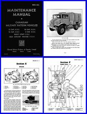 Chev Blitz (CMP) Truck Manual on DVD - C15,C15A,C30 etc