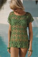 Vintage Crochet Pattern copy Women's Blouse Top