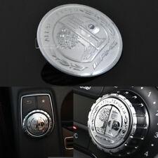 3D AMG Emblem Multimedia Buttons Decor Sticker For Benz A B E CLA GLA GLE Class