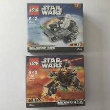 2 x LEGO Star Wars Microfighters 75126 75129 Serie 3 NEU OVP