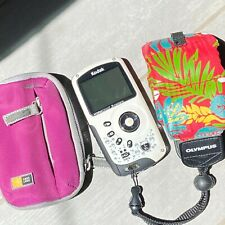 Kodak EIS Play Sport Waterproof Video Camera ZX3 Meters Case & Floating Strao