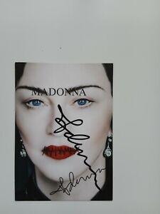 Madonna original Autogramm