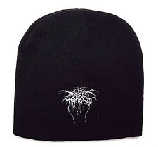 dark throne  Beanie hat embroidery white logo official  Music Band .