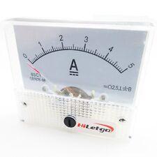5A Analog Panel AMP Current Meter Ammeter Gauge 85C1