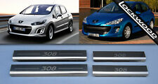 Peugeot 308 Inoxydable Sill Protector Kick Plaque Sills