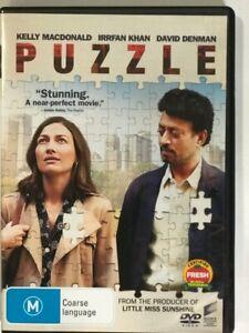 PUZZLE DVD PAL 4 Region 4 Australia Love, Jigsaw Tournament, Like New AUST Post