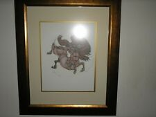 Azoulay SAGITTAIRE &SCORPIO ETCHING Hand Watercolor 1/15 FRAMED YOUR CHOICE EACH