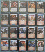 Warcry CCG Legions of Chaos Rare & Super Rare Cards Part 2/2 (Warhammer)