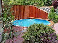 Schwimmbad Pool Stahlwandbecken Rundpool 4,60 x 1,20 m Schwimmbecken