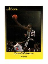 1990 Star Nova Promo Navy Midshipmen San Antonio Spurs David Robinson Mint card