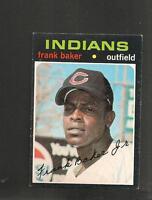 1971 Topps # 689 Frank Baker EX
