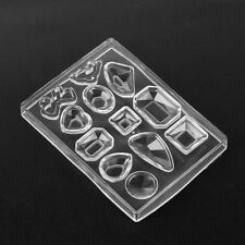 Silicone Gel Pendant Mold Making Jewelry For Resin Necklace Mould Craft Tool