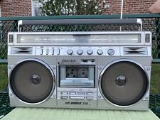 Vintage Boombox Ghetto Blaster Sharp GF-8989-ll In  Used Super Mint Condition