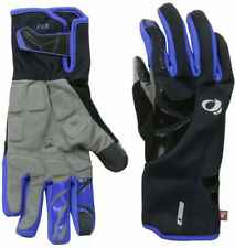 $60 Pearl Izumi Elite Softshell Women's Cycling Gloves 14241403 Black/Blue Small