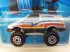 1989 HOT WHEELS - TRAILBUSTERS - TALL RYDER 4X4 VAN  - UNPUNCHED CARD