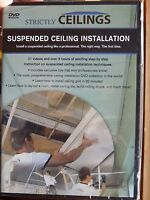 HOW TO INSTALL SUSPENDED DROP CEILINGS instructional (DVD) by Strictly Ceilings