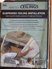 Strictly Ceilings HOW TO INSTALL SUSPENDED DROP CEILINGS collection (DVD)