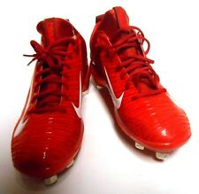 Nike Mike Trout 3 Red Metal Professional Baseball Cleats Cleats 856498 667