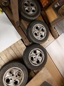 "Ford Escort Mk3 14"" Cloverleaf Alloy Wheel Xr3 Xr3i Cabriolet 1.6cvh 80s"