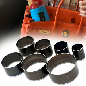 7pcs Leather Cutter Die Hole Punching Round Cutting Tool Set for DIY Craft Purse