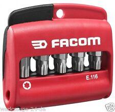 "FACOM GemischterSatz m.10 Torx Plus®-Bits 1/4"" Serie 1-25 mm + Bit-Halter E.116"