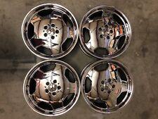 "Mercedes AMG 18x8 18"" Monoblock Chrome Wheel Rim AERO-2 OEM 1294010102 Front"