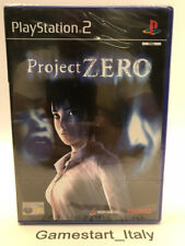PROJECT ZERO - SONY PS2 - VIDEOGIOCO NUOVO SIGILLATO - NEW SEALED PAL VERSION