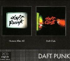 DAFT PUNK - COFFRET 2CD BUDGET HUMAN AFTER 2 CD NEU