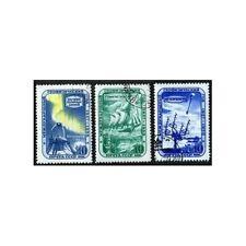 Russia 2089-2091,CTO.Michel 2103A-2105A Geophysical Year IGY-1957-1958.