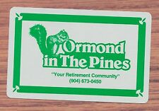 Ormond in The Pines Ormand Beach FL playing card single five of hearts - 1 card