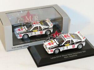 1/43 Lancia 037 Wurth  Winner Rally Deutschland 1983 #1 W.Rohrl