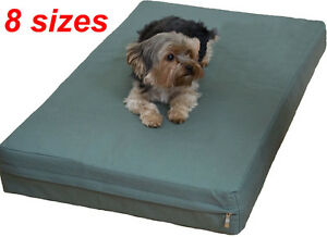 Heavy duty Canvas fabric replacement zipper cover for dog bed pet bed pad