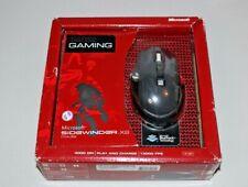 Microsoft 3HA-00001 Sidewinder X8 Wireless Mouse - Black