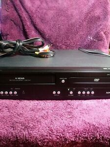 Magnavox DV220MW9 VCR VHS/DVD Combo Player 2008 TESTED GREAT! No Remote