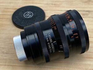 Cooke Kinetal 25mm T2 - Vintage16mm Cinema Lens
