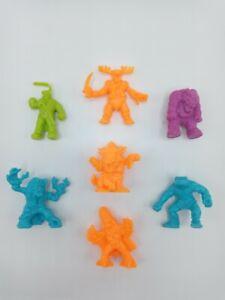 VTG Lot of 7 MONSTER IN MY POCKET Series 1 & 2 Figures - MIMP MEG - Very Rare!