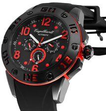 ENGELHARDT Automatikuhr Herrenuhr Uhr Armbanduhr Silikonarmband 388971029004