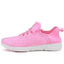 Leuchtende Led Licht Fiber Optic TurnSchuhe Usb aufladen Jungen Mädchen Sneaker