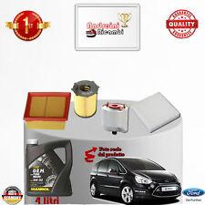 KIT TAGLIANDO FILTRI + OLIO FORD S-MAX 1.6 TDCi 85KW 115CV DAL 2011 ->