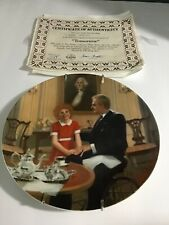 """Vintage """"Tomorrow"""" In The Collector Plate Annie's Series"""