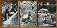"Vintage 3 Booklets ""The Organic Farmer"" 1952 Covers ~ Farming Without Chemicals"