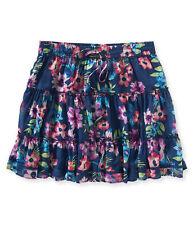 Aéropostale 100% Cotton Mini Regular Size Skirts for Women