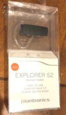 Plantronics Explorer 52 Lightweight Bluetooth Wireless Mono In-Ear Headset,Black