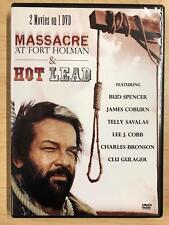 Massacre at Fort Holman - Hot Lead (DVD, double feature) - E1007