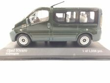 1:43 MINICHAMPS 430040510 OPEL VIVARO BREAK CRYPTON GREEN