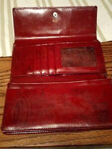 Vintage Cartier, happy birthday Bordeaux Leather Wallet