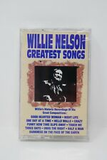Willie Nelson Greatest Songs (Cassette, 1990, Curb Records) SEALED