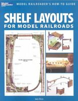 Shelf Layouts for Model Railroads, Paperback by Rice, Iain, Brand New, Free s...