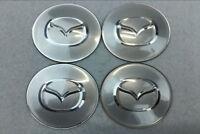 4pcs 65mm Wheel center Hub Sticker Cover Caps Car Logo Emblem Fit for Mazda