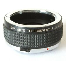 Hoya 2x Auto Teleconverter Multicoated For Olymus OM Lens Mount